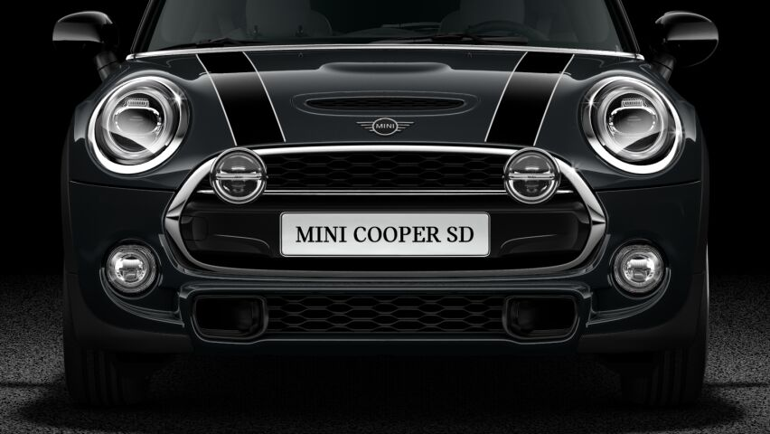 MINI Cooper SD 3 Door Hatch Front LED Headlights