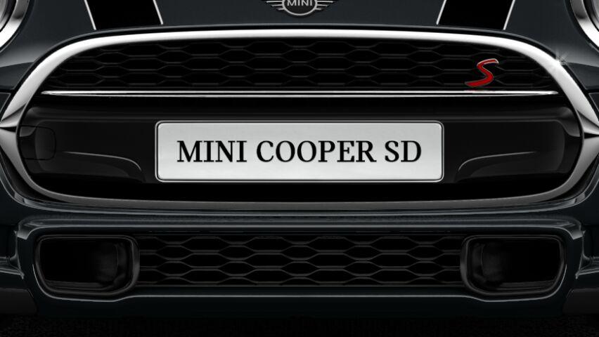 MINI Cooper SD 3 Door Hatch Front Grille