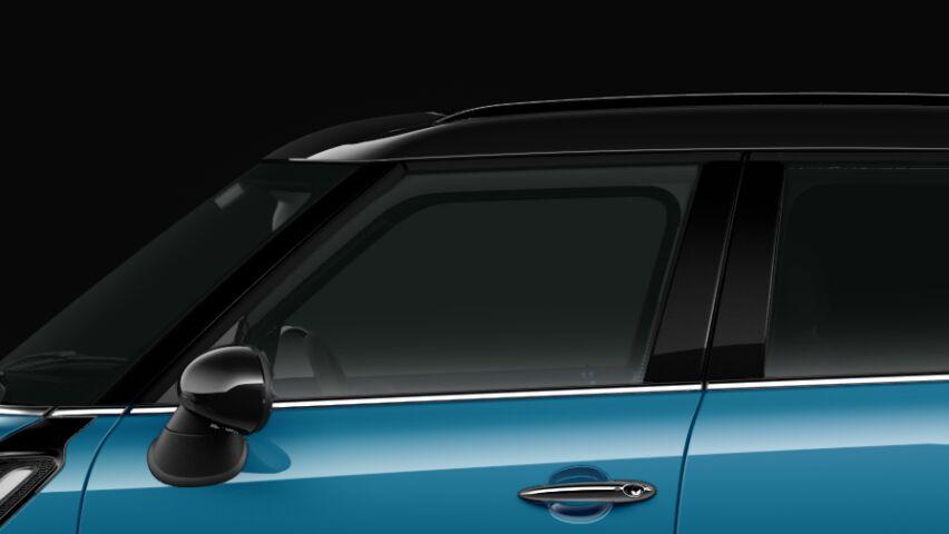 MINI Cooper S Crossover ALL4のルーフとエクステリア・ミラー・キャップ