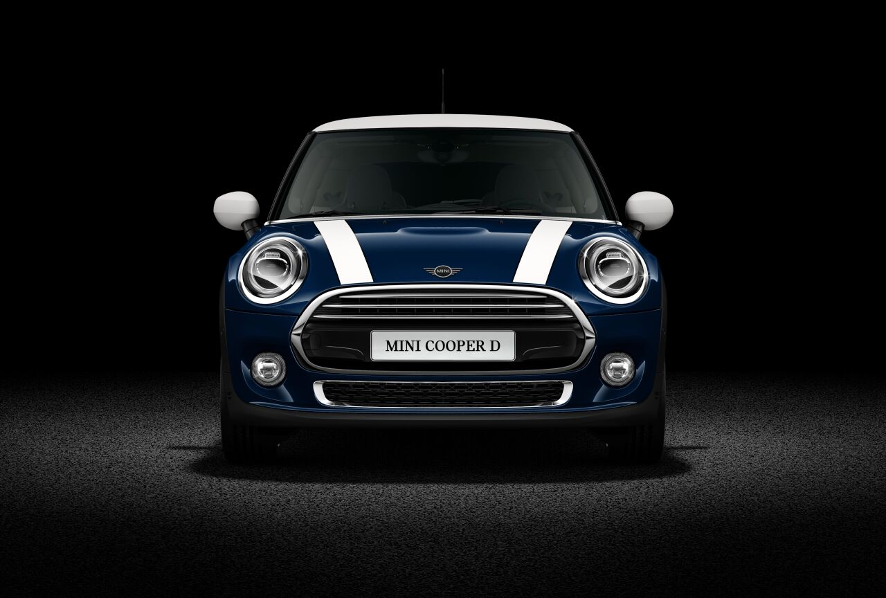 MINI Cooper D 3 Door Front profile