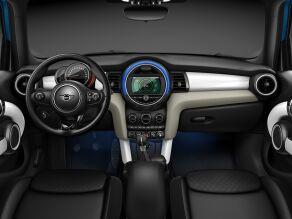 MINI Cooper S Hatch 5-Door interior dashboard and steering wheel