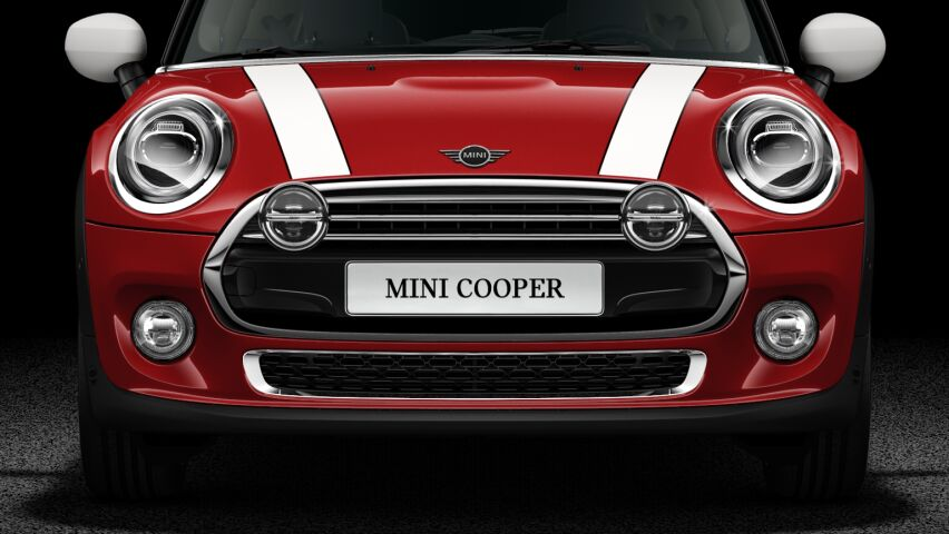 MINI Cooper 3 Door LED Chrome or Black High Gloss headlights..