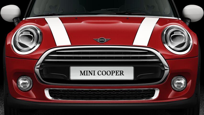 MINI Cooper 3-deurs krachtig voorkomen