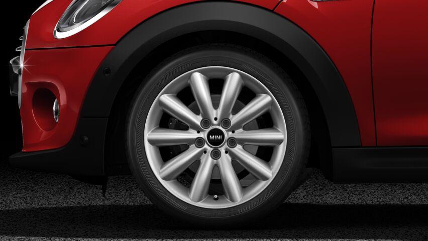 """MINI Cooper 3 Door 15"""" heli-spoke silver light-alloy wheels"""