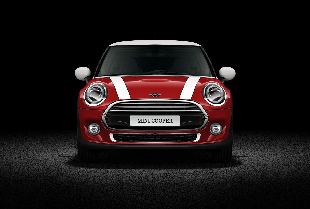 MINI Cooper 3 Door Front profile