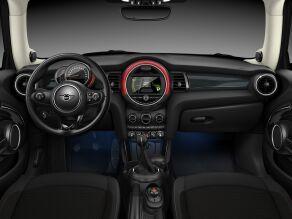 MINI Cooper 3 Door interior dashboard and steering wheel