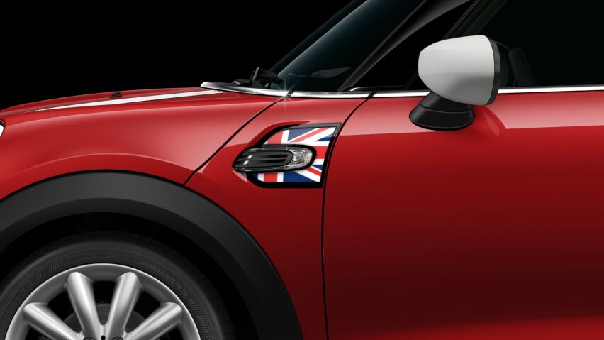 MINI Cooper 3 Door Union Jack Side Scuttles