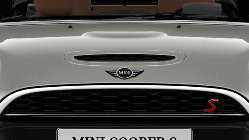 MINI Cooper S Convertible air-scoop bonnet with S badge