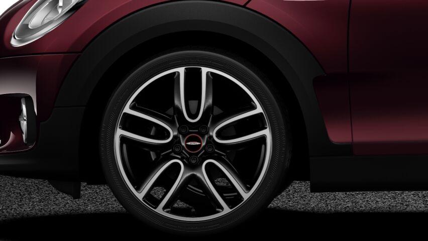 """MINI Cooper Clubman 19"""" 2-tone wheels"""