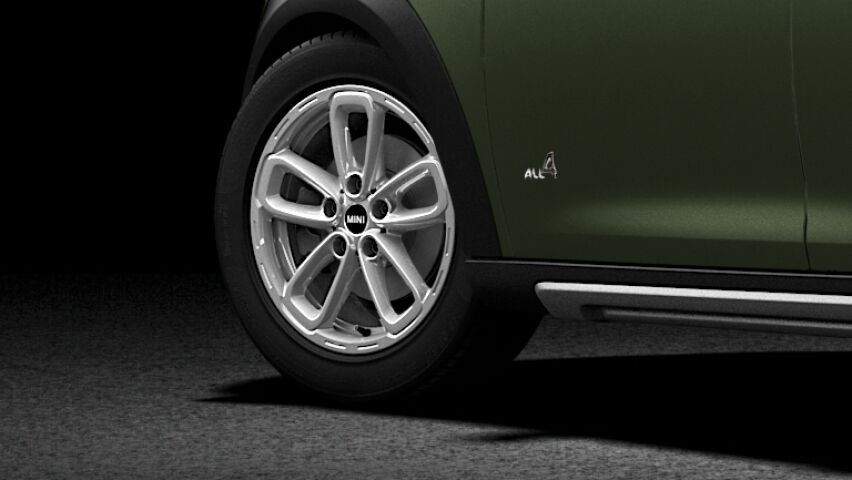 MINI Cooper D All4 Countryman exterior design