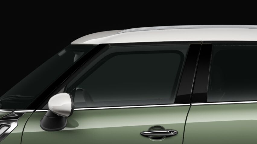 MINI Cooper Countryman roof and exterior mirror caps