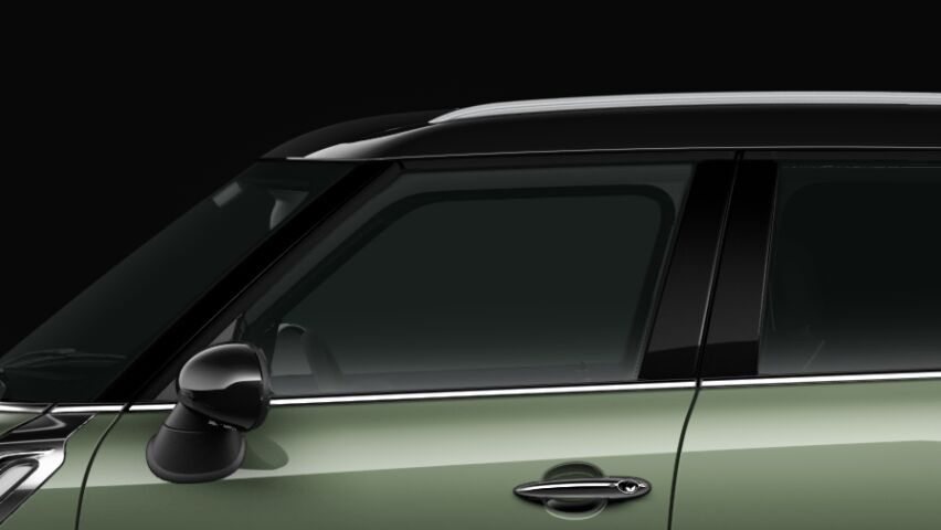 MINI Cooper D All4 Countryman roof and exterior mirror caps