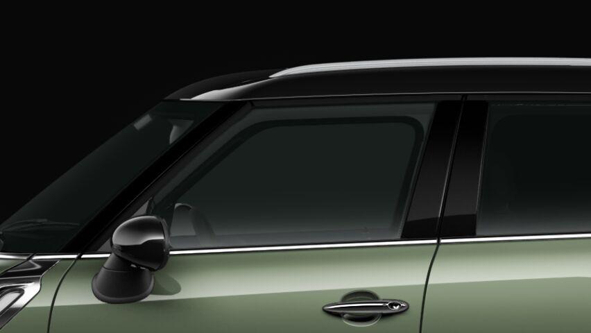 MINI Cooper Crossoverのルーフとエクステリア・ミラー・キャップ