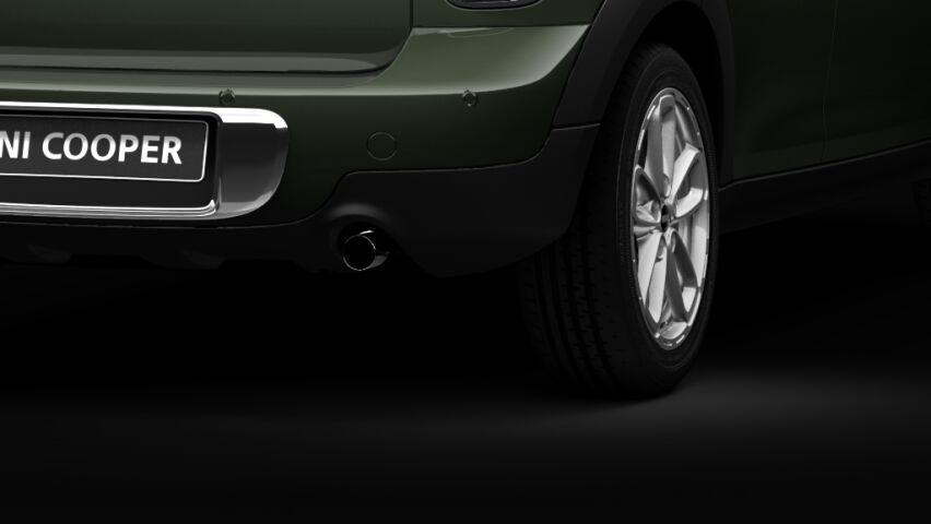 MINI Cooper Crossoverのクローム・テール・パイプ