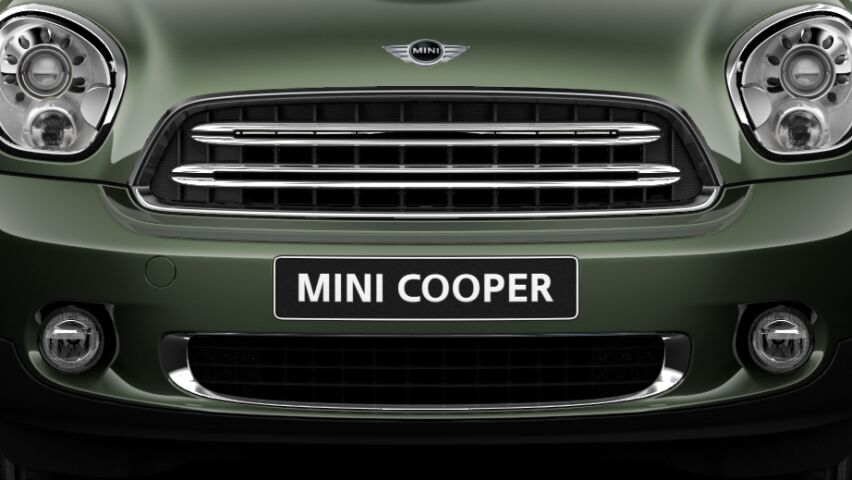 MINI Cooper Countryman Silver radiator