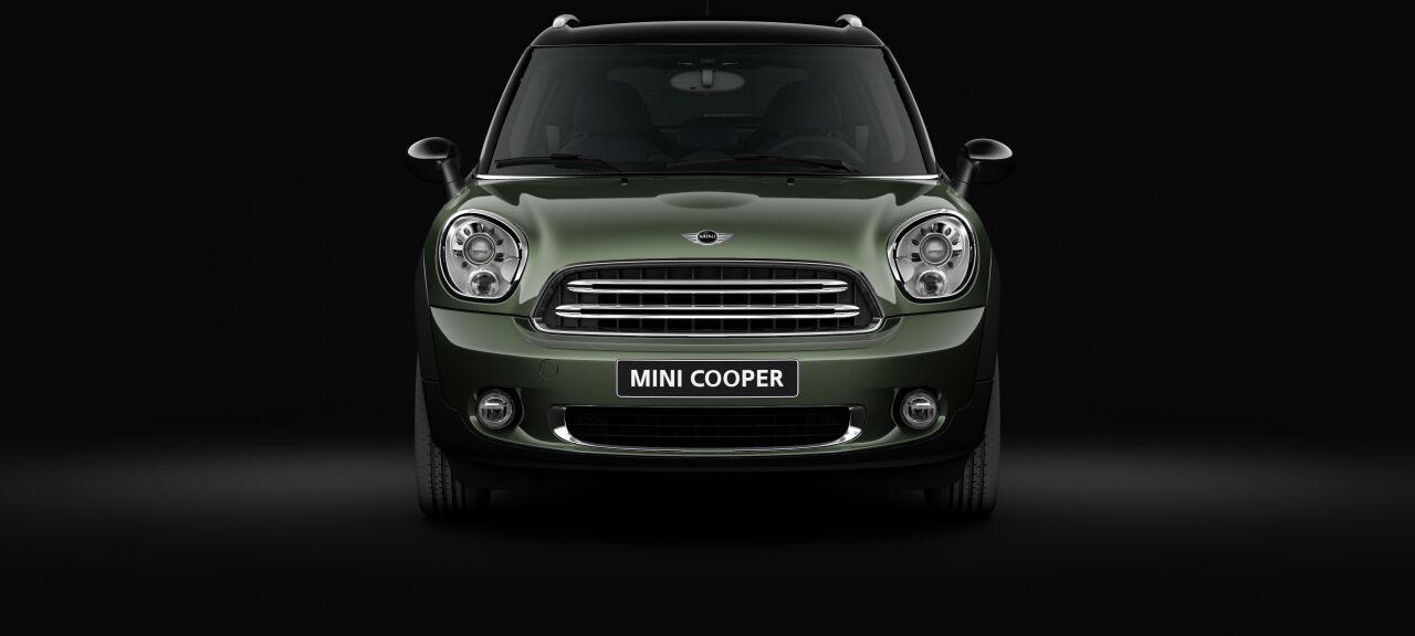 MINI Cooper Crossoverフロントの外観