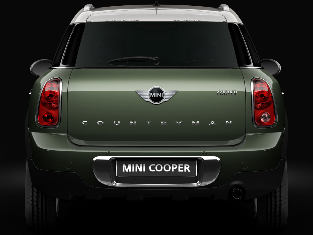 MINI Cooper Countryman countryman badge