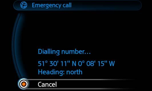 MINI Emergency Call