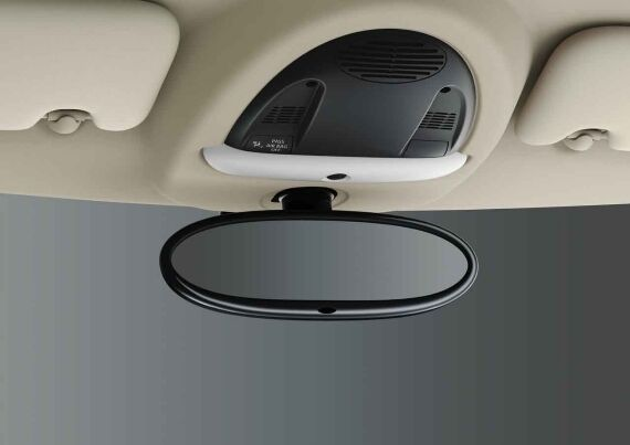 Rear-view mirror, auto dimming