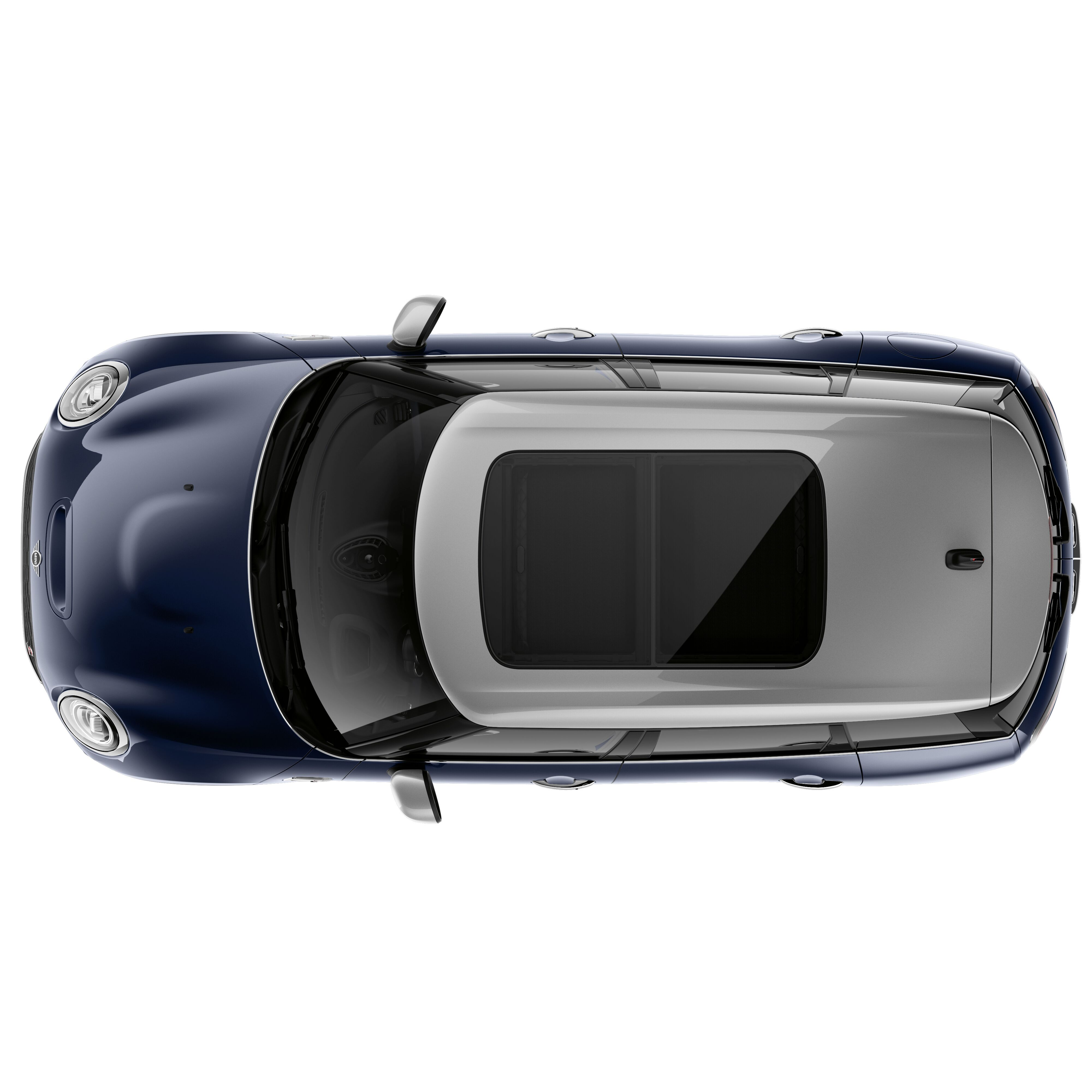Panorama glass sliding/tilting sun roof, electrically operated