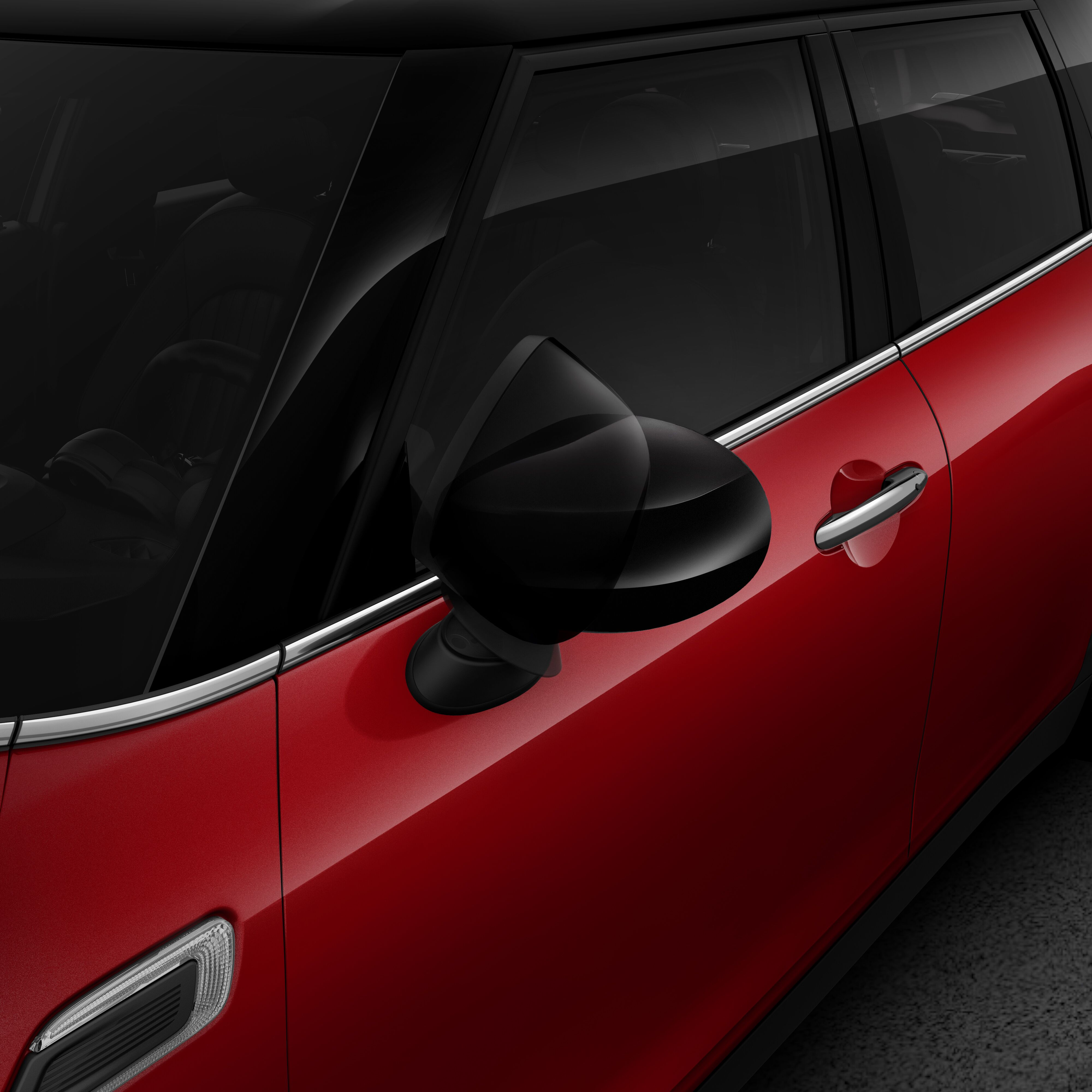 Exterior mirror package (electrically folding and heated)