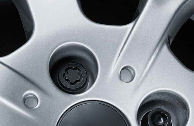 Locking wheel bolts