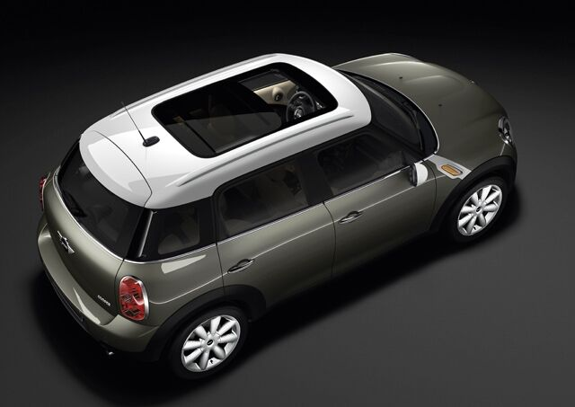 Glass Sunroof, electric with sliding and vent function