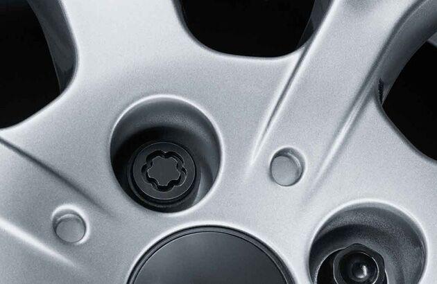 Boulons de roue protegées