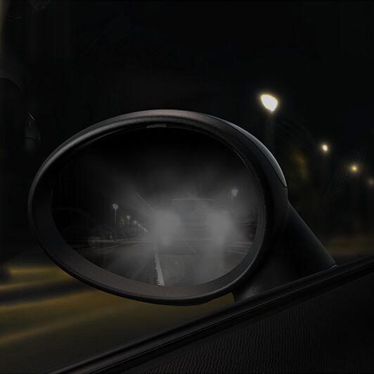 Innen- und Außenspiegel automatisch abblendend