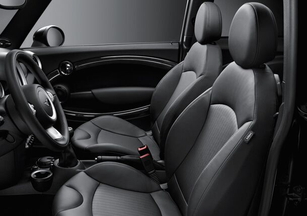 Sport seats for driver and front passenger