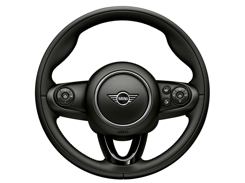 Sport leather steering wheel (3 spoke)