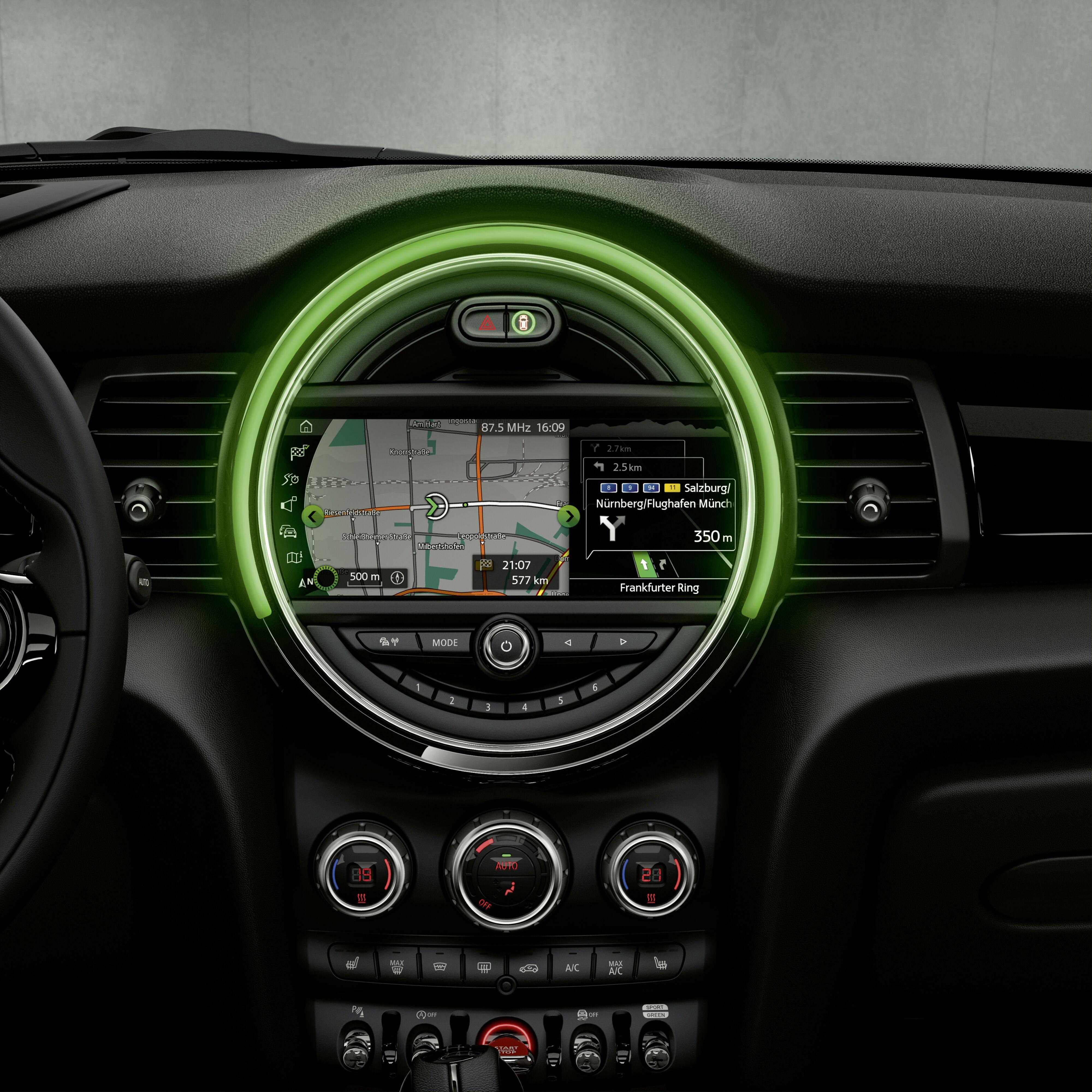 "Systeme de navigation MINI avec ecran XL8,8"""