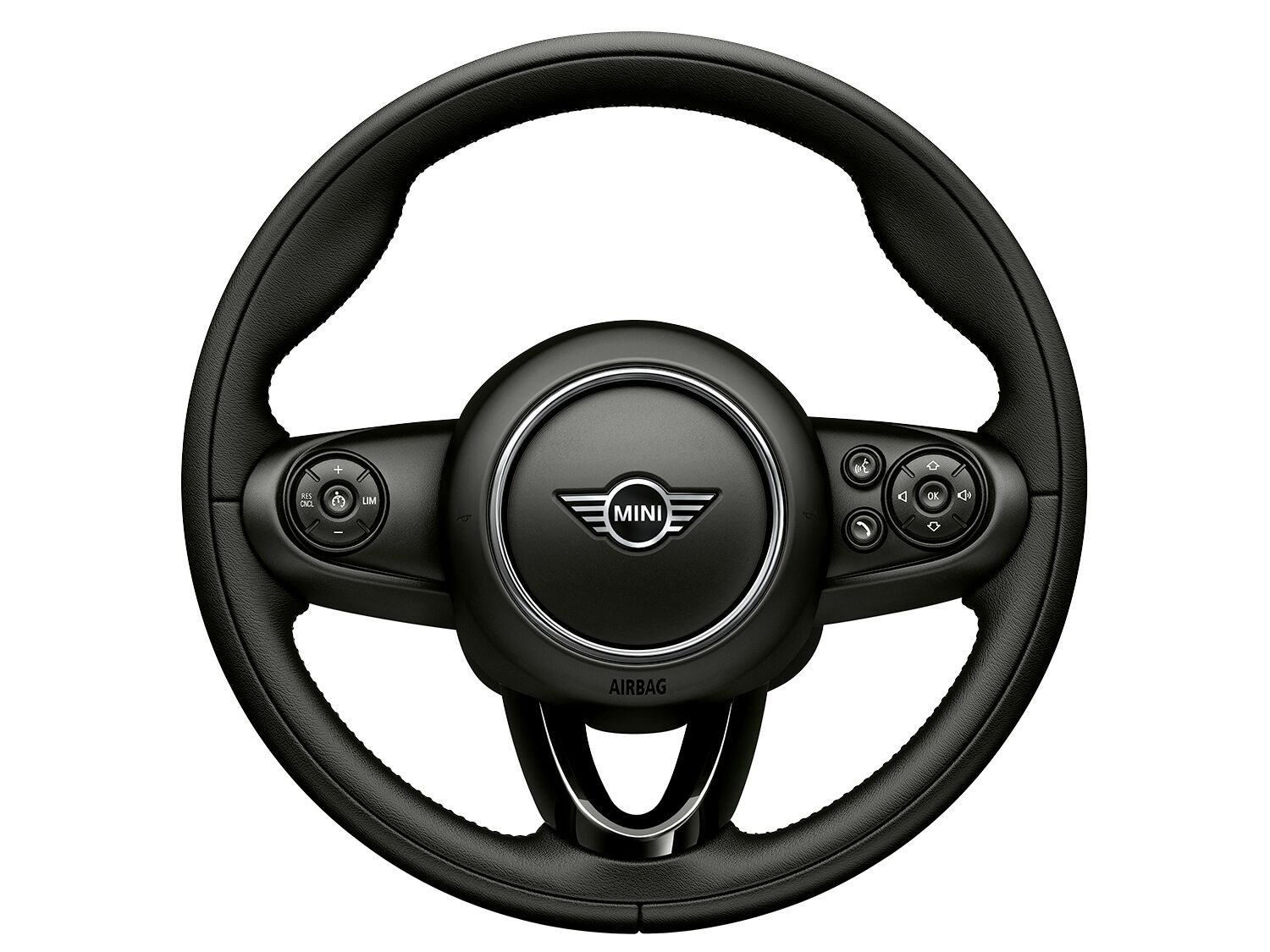 Sport leather steering wheel