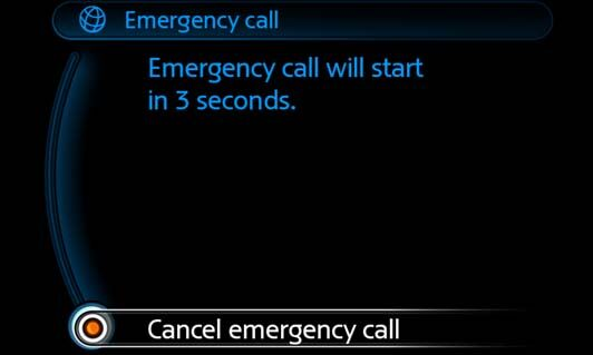 Intelligent emergency calling (E-call)