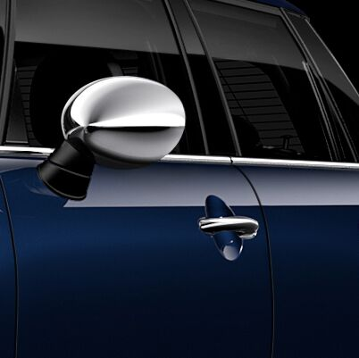 Chrome door mirror caps