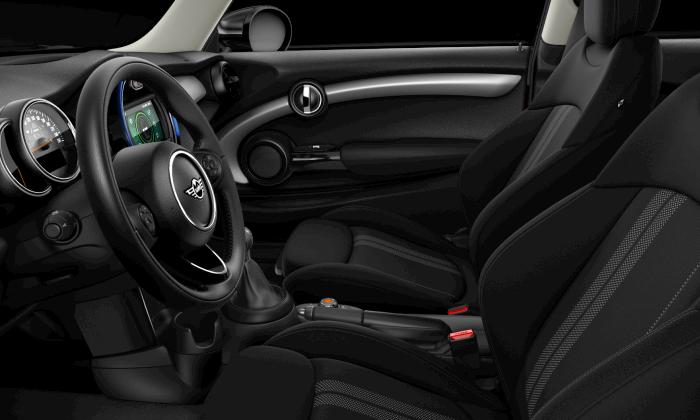MINI 3 Door Hatch interior, steering wheel