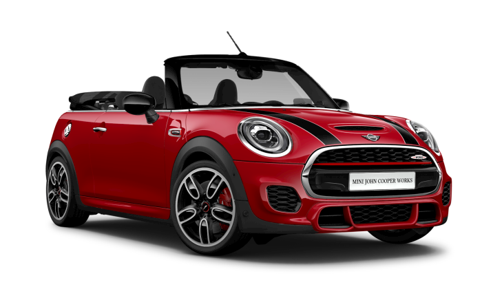 MINI JOHN COOPER WORKS CONVERTIBLE