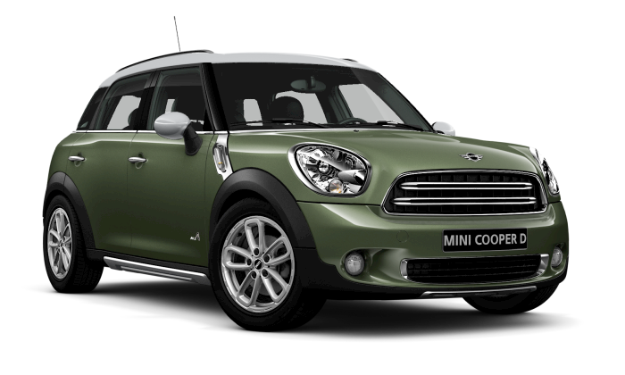 Cooper D Countryman ALL4