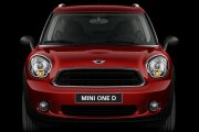 MINI One Countryman Front Profile