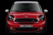 MINI Cooper S Paceman front profile