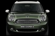 MINI Cooper D Countryman front profile
