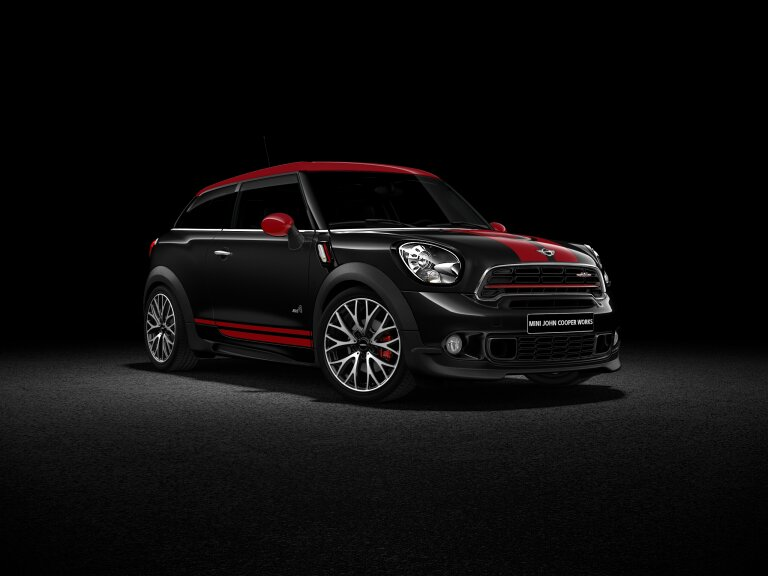 MINI John Cooper Works Paceman ALL4 front-diagonal profile