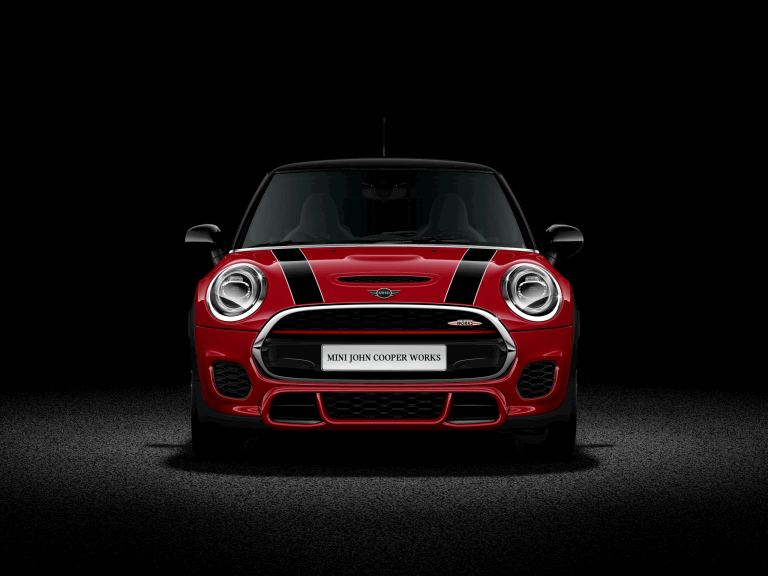 MINI John Cooper Works Hatch front profile