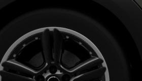 """18"""" легкосплавные диски 5-Star Double Spoke Composite, черного цвета"""
