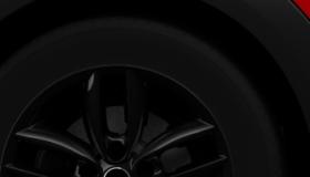 17インチ アロイ・ホイール 5スター・ダブル・スポーク ブラック 7Jx17 205/55 R17