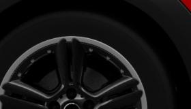 18インチ アロイ・ホイール  5スター・ダブル・スポーク・コンポジット・ ブラック