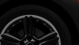 18インチ アロイ・ホイール  5スター・ダブル・スポーク・コンポジット ブラック 7.5Jx18 225/45 R18