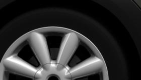 Leichtmetallräder Turbo Fan silber