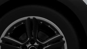 Leichtmetallräder 5-Star Double Spoke Composite Jet Black