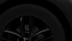 "Lichtmetalen wielen 5-Star Double Spoke 17"" Black High Gloss"